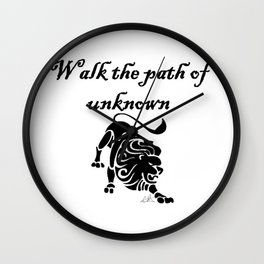The Path Walk Wall Clock