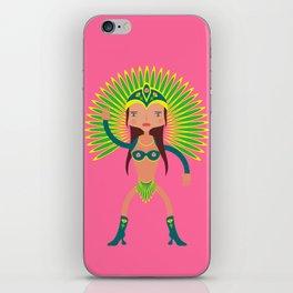 Brazil is Carnival  iPhone Skin