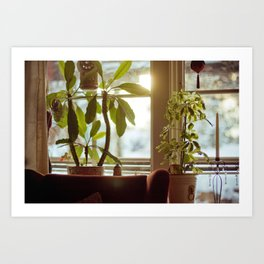 Morning Winter. Art Print