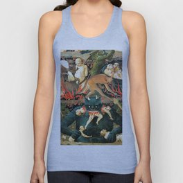 The demon that eats people Unisex Tank Top