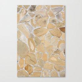 Stony pattern Canvas Print