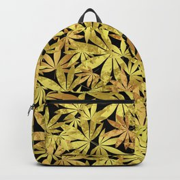 Gold Weed Backpack