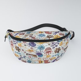 Critter Pattern 3 Fanny Pack