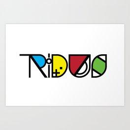 The Tridus Art Print