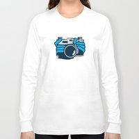 cheese Long Sleeve T-shirts featuring Cheese by Sei Rey Ho