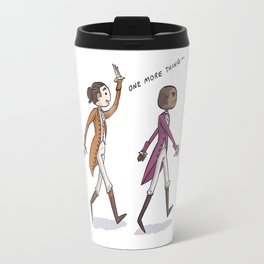 Non-Stop Aaron Burr and A.Ham Musical Merchandise Travel Mug
