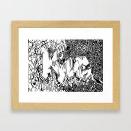 'King' Framed Art Print