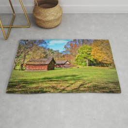 Johnson City Tennessee Cabins Rug