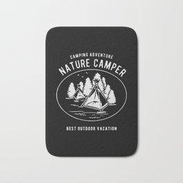 camping adventure nature camper Bath Mat