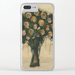 Are You Happy? Clear iPhone Case
