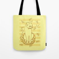 friendship Tote Bags featuring Friendship by Sarinya  Withaya