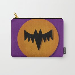 Bat Graphic Carry-All Pouch