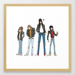 The Ramones Framed Art Print