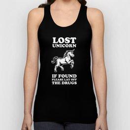 Lost Unicorn Unisex Tank Top