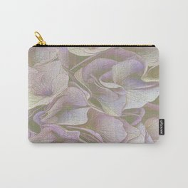 FADED HYDRANGEA CLOSE UP Carry-All Pouch