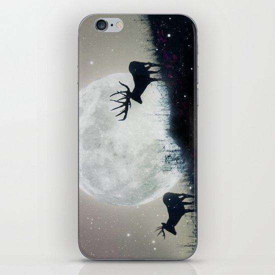 blue moon rising iPhone & iPod Skin