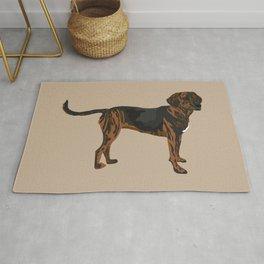 Riley plott hound Rug
