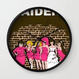 Brides Maidens Wall Clock