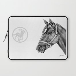 Affirmed (US) Thoroughbred Stallion Laptop Sleeve