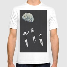 dive White MEDIUM Mens Fitted Tee