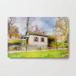 The Quart House Metal Print