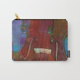 Violin Abstract Two Carry-All Pouch