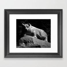 Penn State Nittany Lion Shrine Framed Art Print