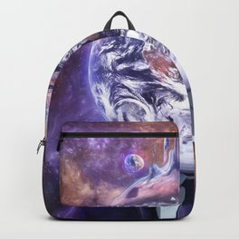 Salesman in Mercury Backpack