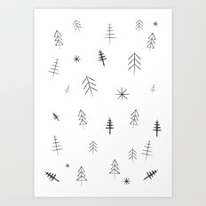 O Christmas tree[s] Art Print