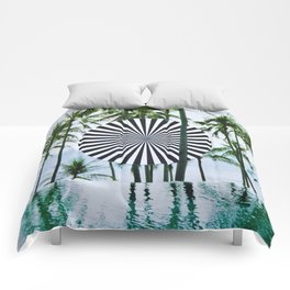 Tropical Trance Comforters