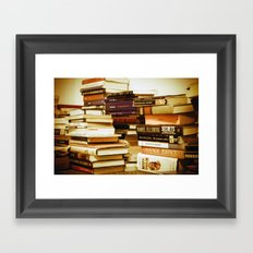 Devotions of a Graduate Student Framed Art Print