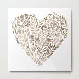 My Heart Will Go On Metal Print