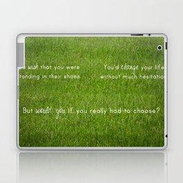 The Grass is Always Greener Laptop & iPad Skin