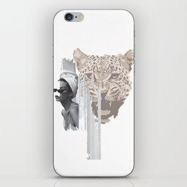 Gaze/Cheetah iPhone Skin