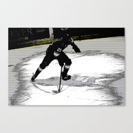 On the Move - Hockey Player Canvas Print