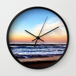 Zuma Beach Sunrise Wall Clock