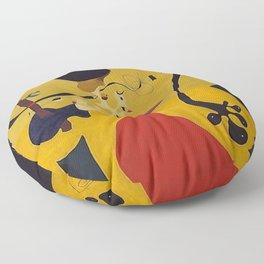 Art Dutch Interior III Joan Miro Floor Pillow