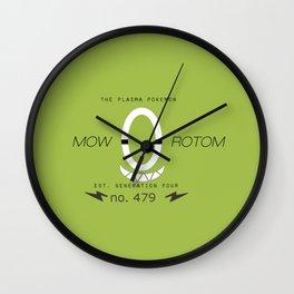 Rotom (Mow) Wall Clock