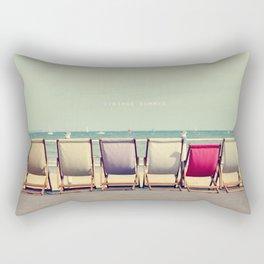 Vintage Summer Rectangular Pillow