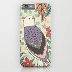 Bird and Autumn Leaves iPhone 6s Slim Case