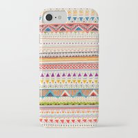 yellow pattern iPhone & iPod Cases featuring Pattern by Sandra Dieckmann