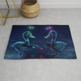 Duck Brothers by Cinemamind Rug