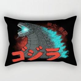 Mighty Kaiju Gojira Rectangular Pillow