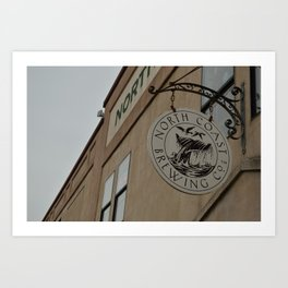 North Coast Brewing Co. Art Print