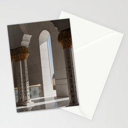 Sheikh Al Zayed mosque Abu Dhabi nº2 Stationery Cards