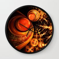 royal Wall Clocks featuring Royal by Eli Vokounova