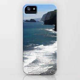 The Coastline of Pololu iPhone Case