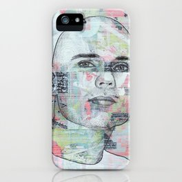 Billy Corgan - We Only Come Out at Night iPhone Case