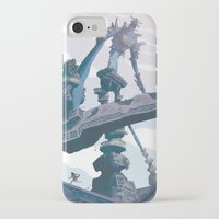 shadow of the colossus iPhone & iPod Cases featuring Shadow of the Colossus  by Felo