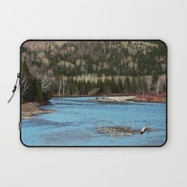 Sparkling River in Spring Laptop Sleeve